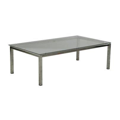 707gl Coffee Table With Gl Top 120x80cm